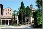 Il complesso dell'Abbazia delle Tre Fontane a Roma