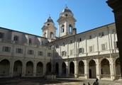 Il Convento di Trinità dei Monti - Roma - Il chiostro
