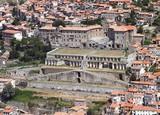 Il tempio della Fortuna Primigenia a Palestrina (Roma)