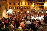 """in foto: """"Toccata e Fuga"""" a Piazza fi Spagna (RM) - agosto 2011"""