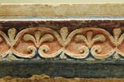La Villa di Livia a Prima Porta (RM) - Sito archeologico -particolare di un affresco